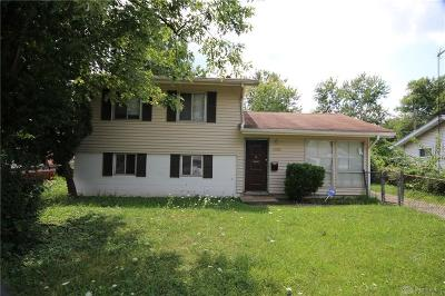 Dayton Single Family Home For Sale: 5152 Rucks Road