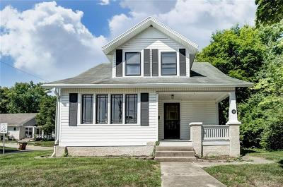 Tipp City Single Family Home For Sale: 215 Hyatt Street