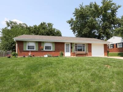 Xenia Single Family Home For Sale: 442 Ledbetter Road