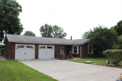 Tipp City Single Family Home Active/Pending: 7395 Bard Road