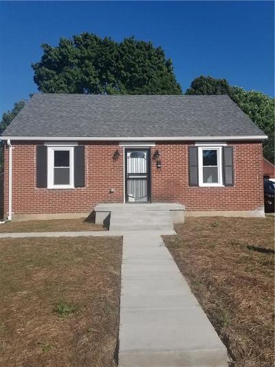 Dayton Single Family Home For Sale: 714 Osmond Avenue