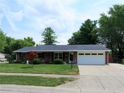 Miamisburg Single Family Home Active/Pending: 1238 Nassau Drive