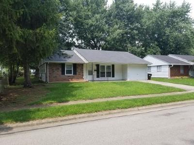 Xenia Single Family Home For Sale: 1816 Atkinson Drive