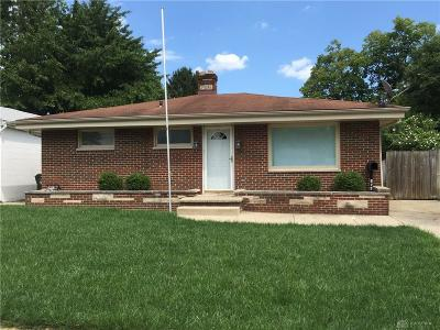 Xenia Single Family Home For Sale: 879 Chestnut Street