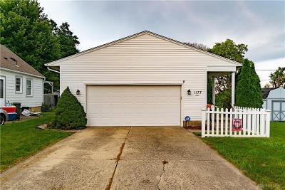 Dayton Single Family Home For Sale: 1177 Highridge Avenue