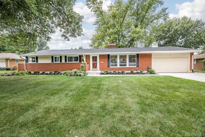 Kettering Single Family Home For Sale: 4705 Rean Meadow Drive