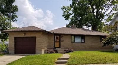 Dayton Single Family Home For Sale: 2720 Kingston Avenue
