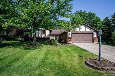 Springboro Single Family Home For Sale: 520 Queensgate Road