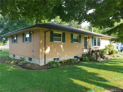 Brookville Single Family Home For Sale: 2276 Diamond Mill Road