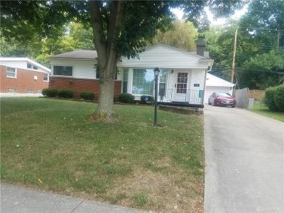 Kettering Single Family Home Active/Pending: 3216 Braddock Street