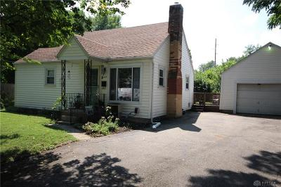 Dayton Single Family Home For Sale: 3609 Claybourne Road