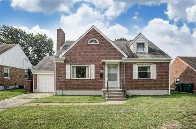 Kettering Single Family Home For Sale: 720 Stroop Road