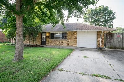 Dayton Single Family Home For Sale: 3846 Endover Road