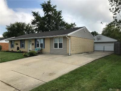 Dayton Single Family Home For Sale: 7222 Citadel Drive