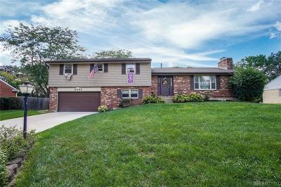Dayton Single Family Home For Sale: 6441 Rangeview Drive
