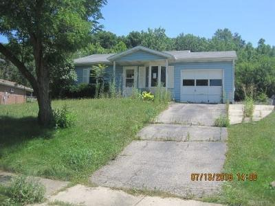 Fairborn OH Single Family Home For Sale: $64,900