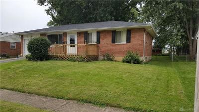 Xenia Single Family Home For Sale: 1468 Oshaughnesy Drive