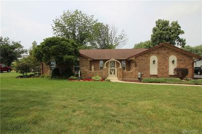 Brookville Single Family Home For Sale: 6903 Preble County Line Road