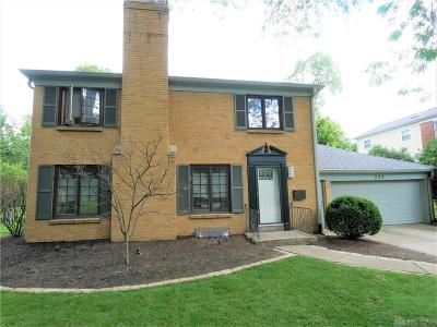 Kettering Single Family Home Active/Pending: 233 Avon Way