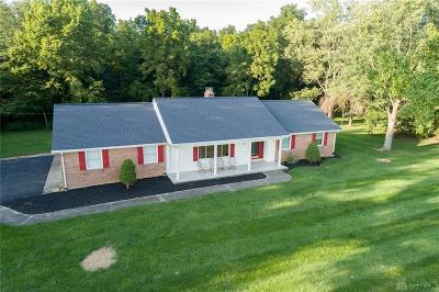 New Carlisle Single Family Home For Sale: 9558 Troy Road