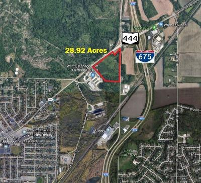 Fairborn Commercial For Sale: State Route 444 & Spangler Rd