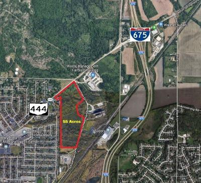 Fairborn Commercial For Sale: State Route 444 & Schwerman Dr