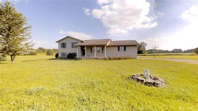 South Vienna Single Family Home For Sale: 8235 Jones Road