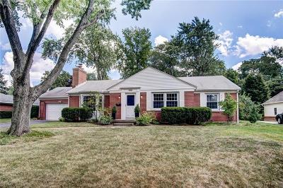 Kettering Single Family Home Active/Pending: 3100 Allendale Drive