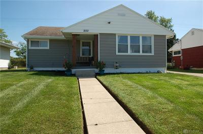 Fairborn Single Family Home Active/Pending: 1022 Adams Street