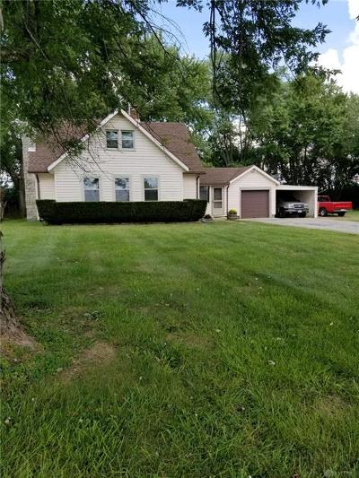 Brookville Single Family Home Active/Pending: 10683 Amity Road