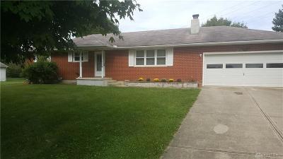 Single Family Home For Sale: 3800 Rebert Pike