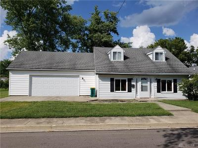 Jamestown Vlg OH Single Family Home For Sale: $89,900