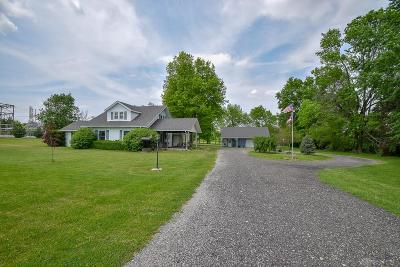 West Milton Single Family Home For Sale: 6975 Fred Garland Road
