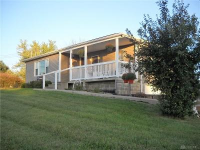 Single Family Home Active/Pending: 9763 Mechanicsburg Catawba Road