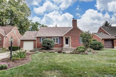 Kettering Single Family Home Active/Pending: 509 Oakview Drive