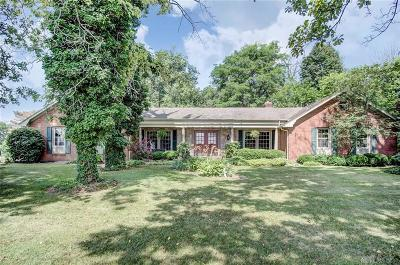 South Charleston Single Family Home For Sale: 10337 Charleston Pike