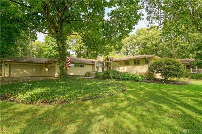 Kettering Single Family Home For Sale: 4910 Tait Road