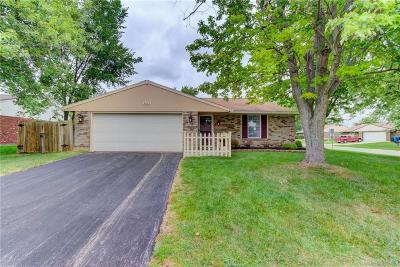 Dayton Single Family Home Active/Pending: 8445 Indian Mound Drive