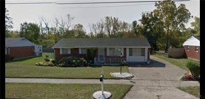 Dayton Single Family Home For Sale: 5230 Hoover Avenue