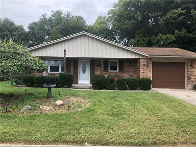 Tipp City Single Family Home For Sale: 645 Bellaire Drive