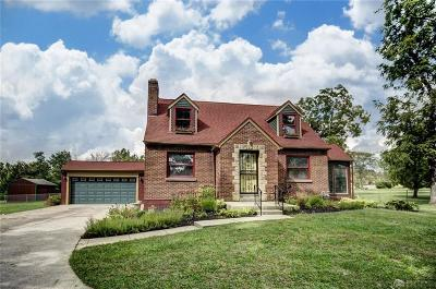 Dayton Single Family Home For Sale: 7025 Meeker Road