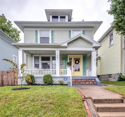Dayton Single Family Home Active/Pending: 663 Carlisle Avenue