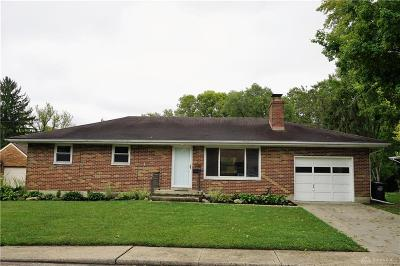 Trotwood Single Family Home Active/Pending: 316 Grand Avenue