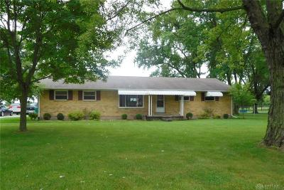 Tipp City Single Family Home For Sale: 6885 County Road 25a