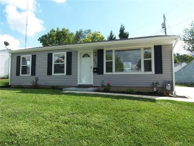 Dayton Single Family Home For Sale: 3585 Roejack Drive