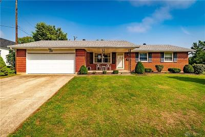 West Milton Single Family Home For Sale: 26 Donna Jane Court