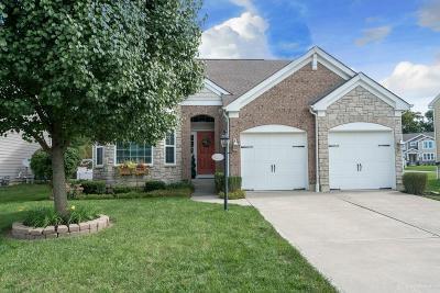 Springboro Single Family Home For Sale: 160 Bailey Lane