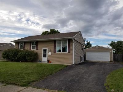 New Carlisle Single Family Home Active/Pending: 1038 Bookwalter Avenue