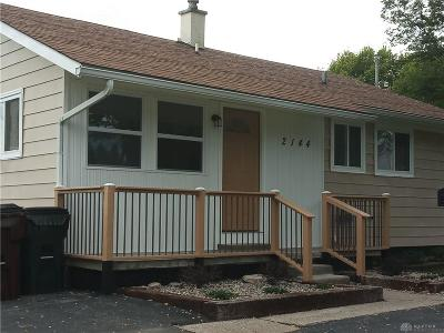 Dayton OH Single Family Home For Sale: $52,000