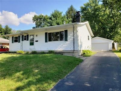 Xenia Single Family Home For Sale: 475 Marshall Drive